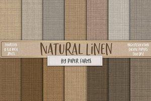 Natural Linen textures