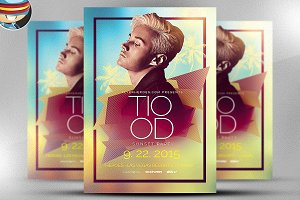 Abstract House Flyer Template 2