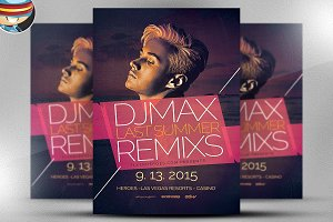 House Remixes Flyer Template