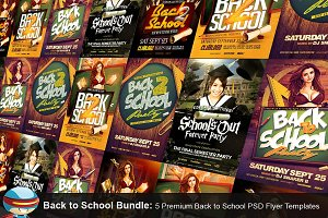 Back To School Flyer Bundle