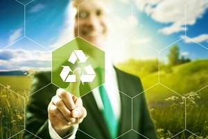 Recycle business concept