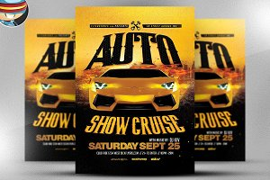 Auto Show Flyer Template 2