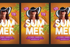 Summer Dj Flyer Party