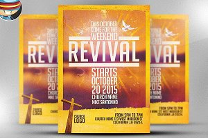 Church Revival Flyer Template