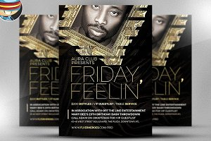 Friday Feelin' Flyer Template