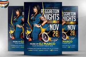Reggaeton Flyer Template