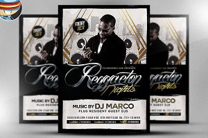 Reggaeton Flyer Template 2