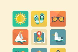 Summer icons 1