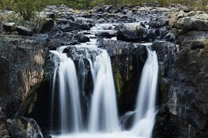 The Gorge waterfall and creek