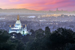 Oakland Temple and City