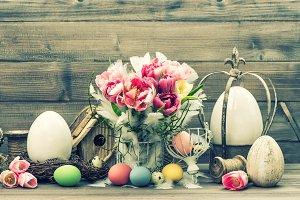 Easter stil life