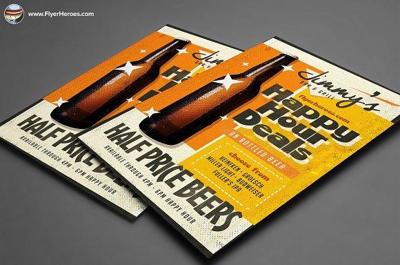Vintage Beer Poster Template 5
