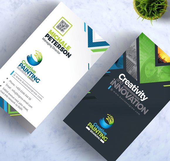 Creative painting business card business card templates creative creative painting business card business card templates creative market colourmoves