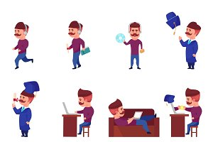 Online Learning Character Set