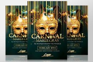 Mardi Gras | Carnival Flyer