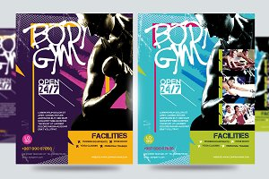 Fitness Flyer / Gym Flyer V8