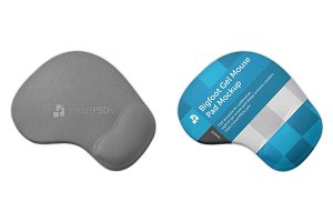 Bigfoot Gel Mouse Pad Design Mockup