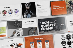 Bicycle Powerpoint Presentation