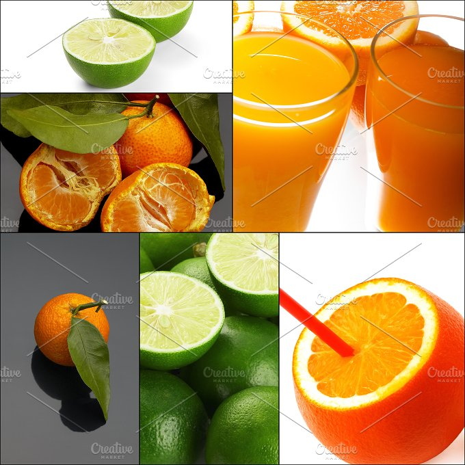 citrus fruits collage 10.jpg - Food & Drink