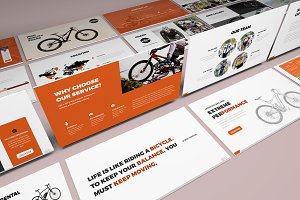 Bicycle Google Slides Presentation