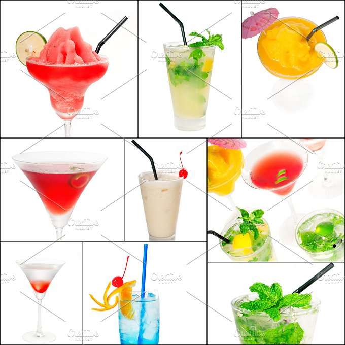 cocktails collage 10.jpg - Food & Drink