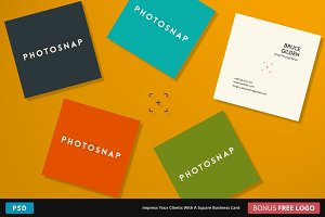 PhotoSnap Business Card - Square