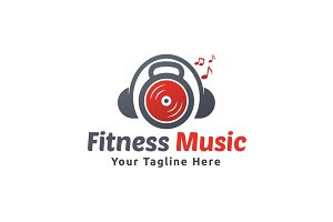 Fitness Music Logo
