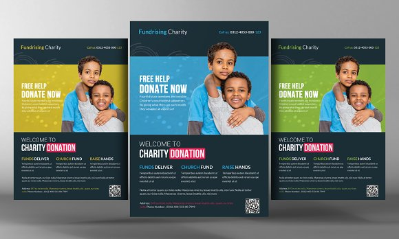 charity donation flyer templates flyer templates creative market