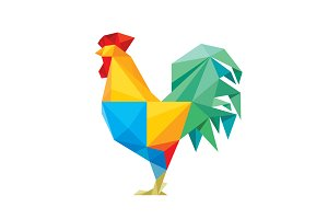 Rooster Cock Vector Illustration