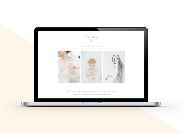 Squarespace Website Template Aspen