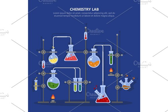 Chemistry Laboratory Or Science Lab Equipment