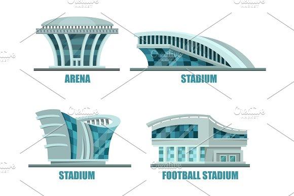 Soccer Or Football Sport Stadium Or Field
