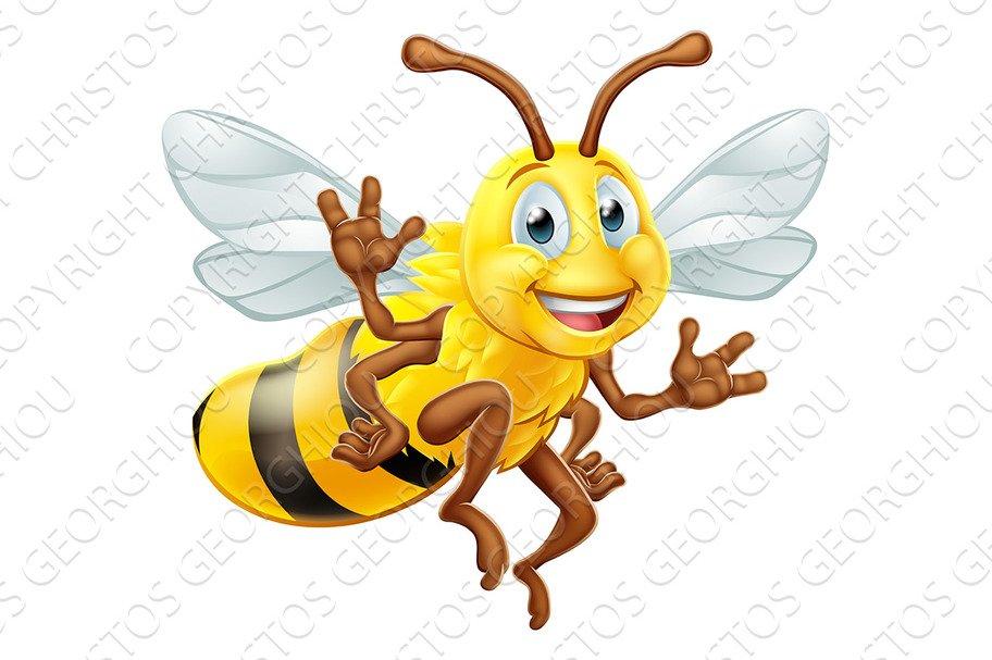 Bumble Bee Cartoon Character ~ Illustrations ~ Creative Market