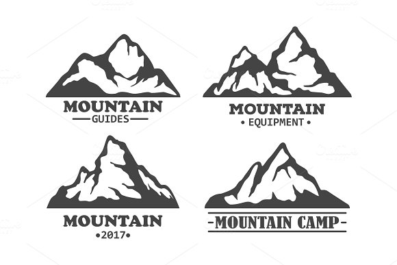 Exploration Mountains With Rocky Peaks