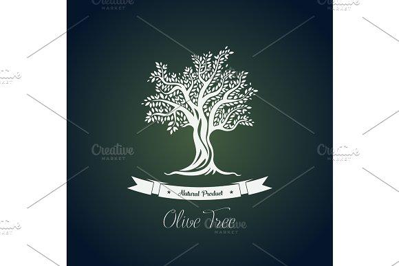Fruit Food Plant Or Olive Oil Tree Logo
