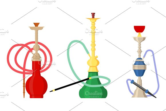 Pipe Smoke Or Hookah For Turkish Tobacco
