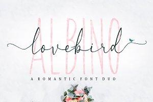 Albino Lovebird - Font Duo