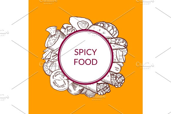 Vector Mexican Food Elements