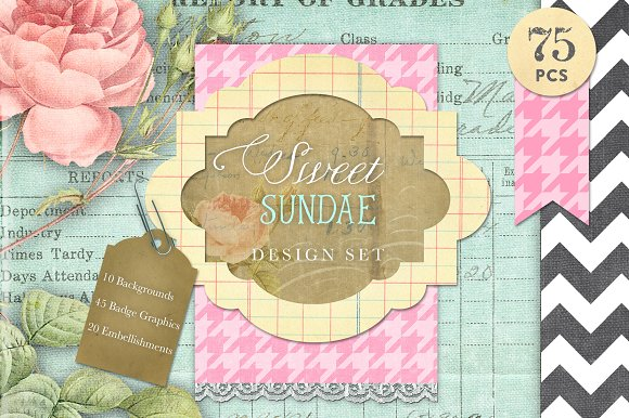 Sweet Sundae Design Kit