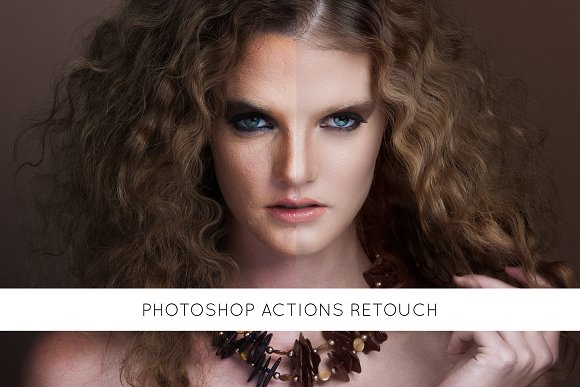 Photoshop Actions Retouch