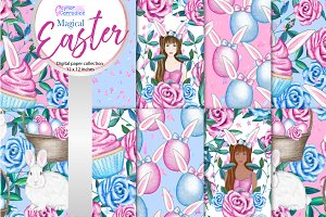 Magical Easter pattern collection