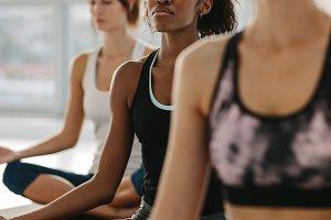Mindfulness and peaceful yoga