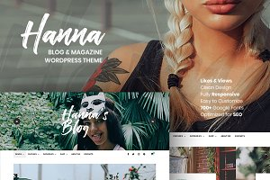 Hanna - A Beautiful WordPress Blog