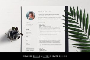 Resume Template 7-Page Pack for Word