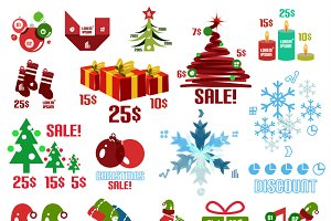 Christmas sale templates