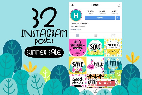 32 Instagram Post-SUMMER Sale