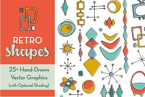 Retro Vector Shapes