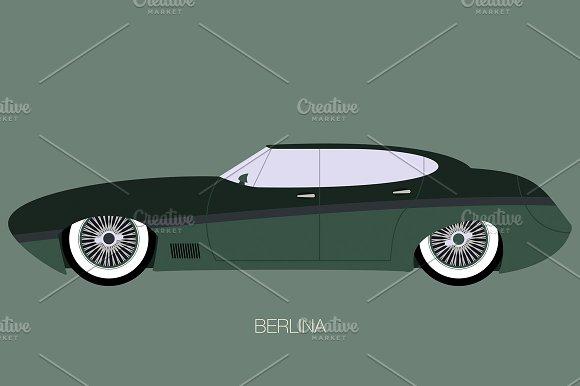 Retro Berlina Car