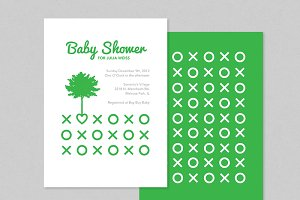 Green Baby Shower