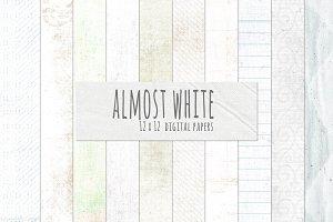 Almost White Digital Paper